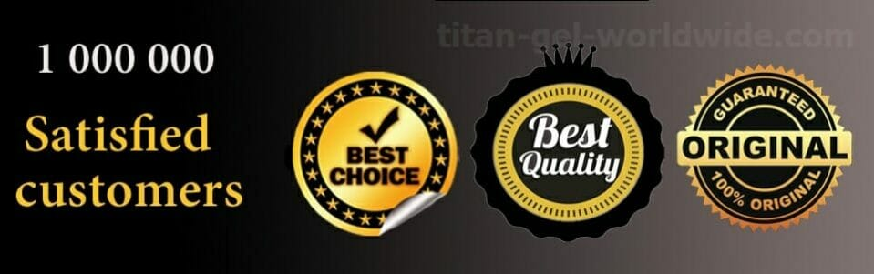Titan gel high quality, 100% original