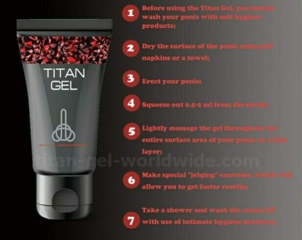 Titan gel how to use